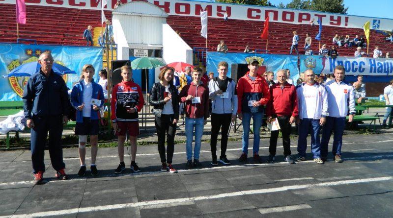 Алатырцы приняли участие в Кроссе нации-2017 6