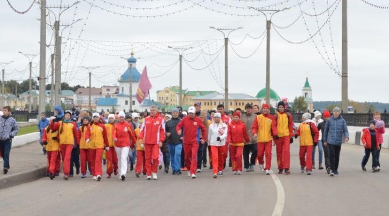 Чувашия присоединилась к Всероссийскому дню ходьбы