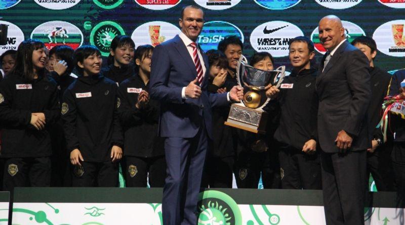 В столице Чувашии завершился Кубок мира по вольной борьбе среди женщин