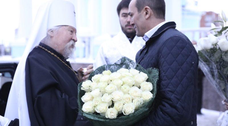Глава Чувашии Михаил Игнатьев принял участие в Рождественском богослужении