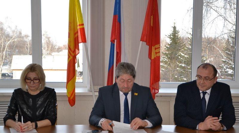 Юрий Боголюбов назначен на должность главы администрации города Алатыря