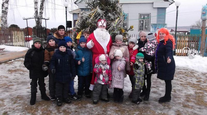В Алатырском районе прошли новогодние мероприятия