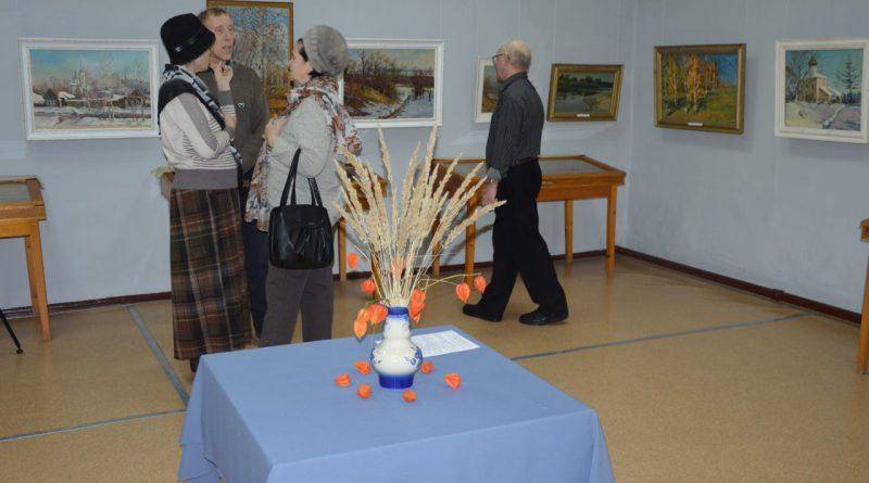 В Алатыре открылась выставка художника Юрия Вавашкина