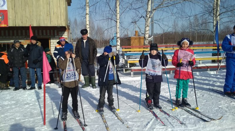 Всем районом на «Лыжню России» 8