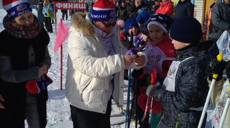Всем районом на «Лыжню России» 1