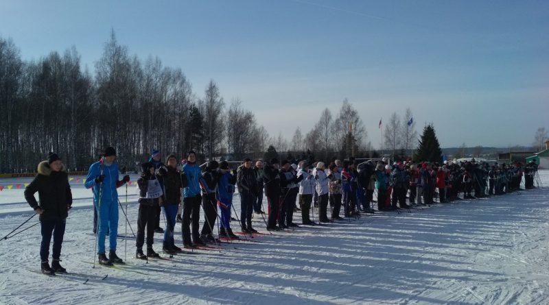 Всем районом на «Лыжню России» 7