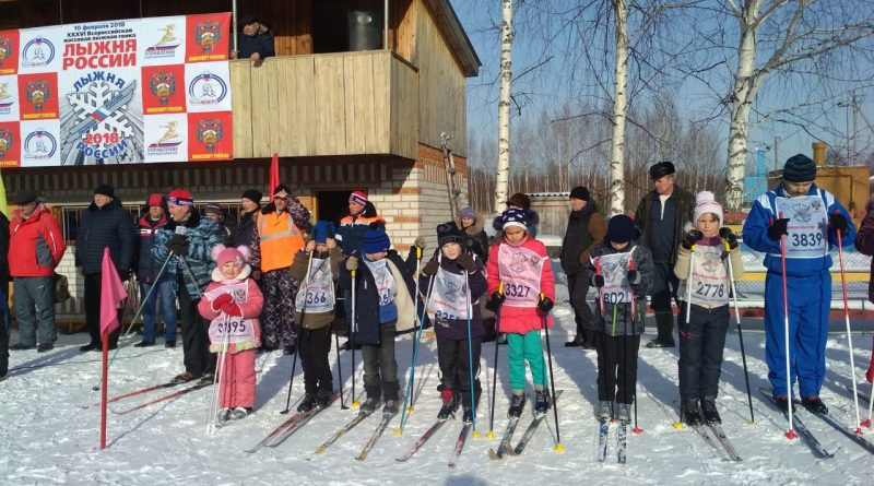 Всем районом на «Лыжню России» 11
