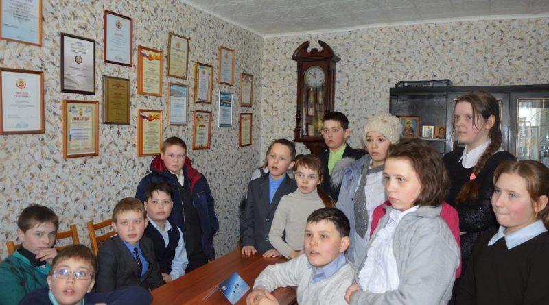 В редакции газеты «Алатырские вести» побывали школьники