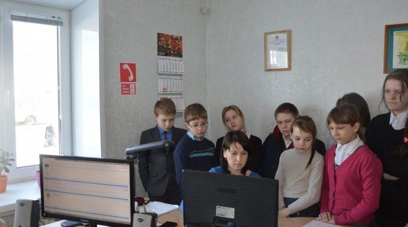 В редакции газеты «Алатырские вести» побывали школьники 2