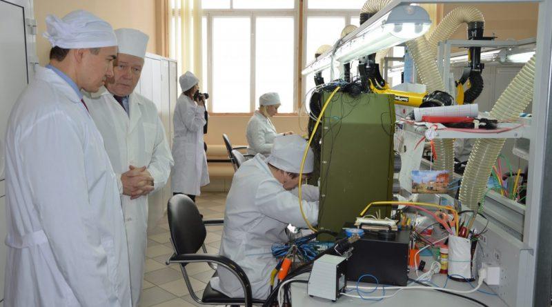 Министр экономического развития, промышленности и торговли Чувашской Республики  Владимир Аврелькин побывал с визитом в Алатыре