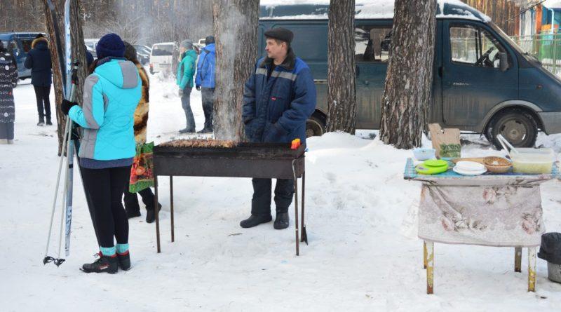Лыжня России-2018 в Янтарном 2