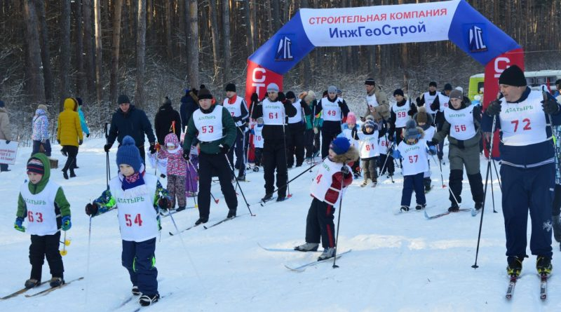 Алатырцы приняли участие в «Лыжне России-2018»