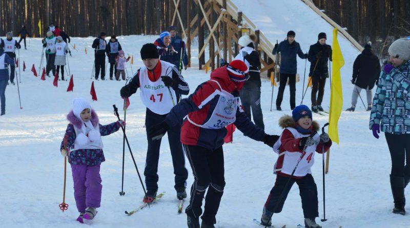 Лыжня России-2018 в Янтарном 10