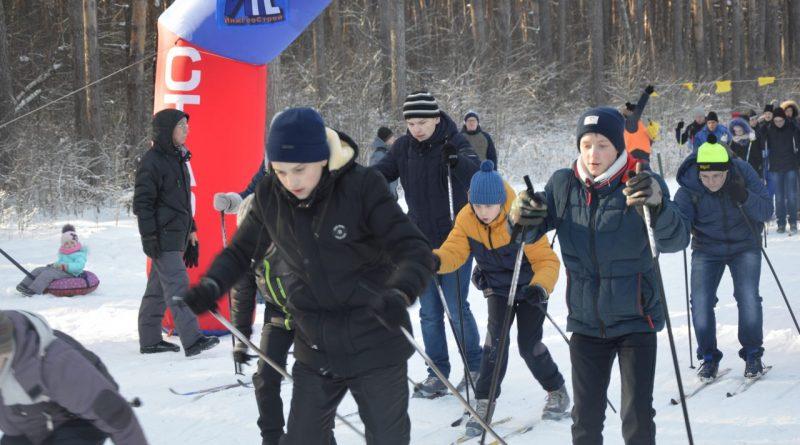 Лыжня России-2018 в Янтарном 55