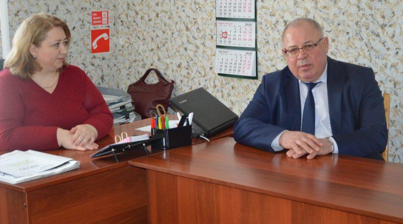 В «Алатырских вестях» побывал министр информационной политики Чувашии 2