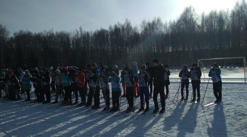 Всем районом на «Лыжню России»