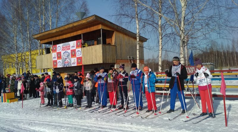 Всем районом на «Лыжню России» 16