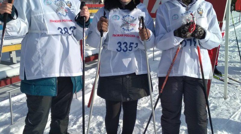 Всем районом на «Лыжню России» 18