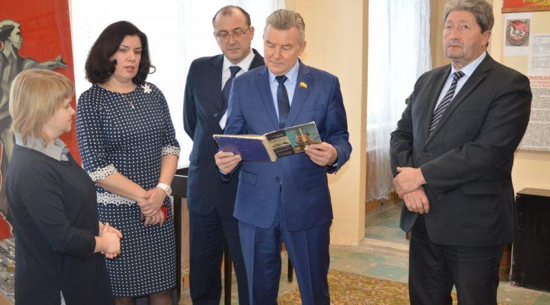 Председатель Госсовета Чувашии посетил Алатырь и Алатырский районы 5