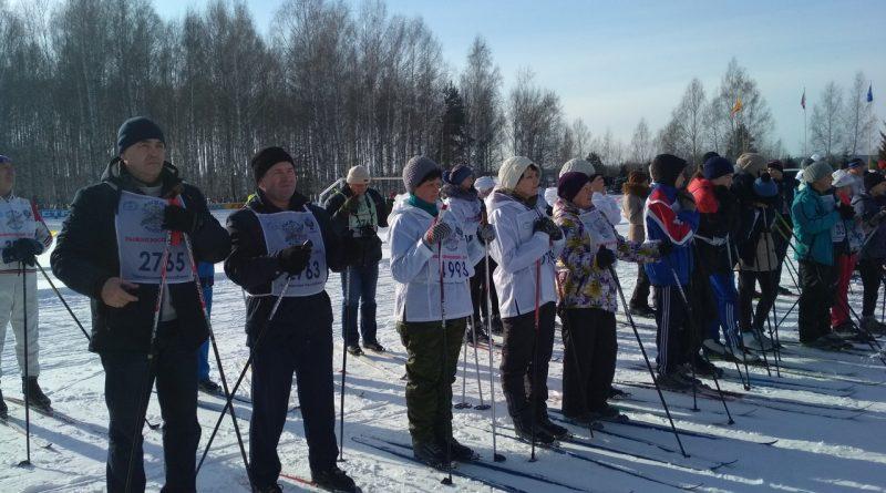 Всем районом на «Лыжню России» 22