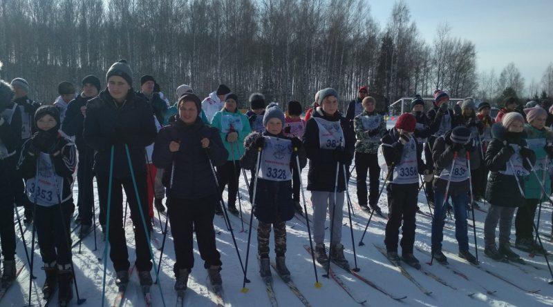 Всем районом на «Лыжню России» 28