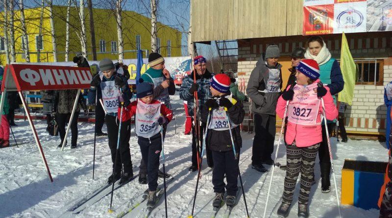 Всем районом на «Лыжню России» 32