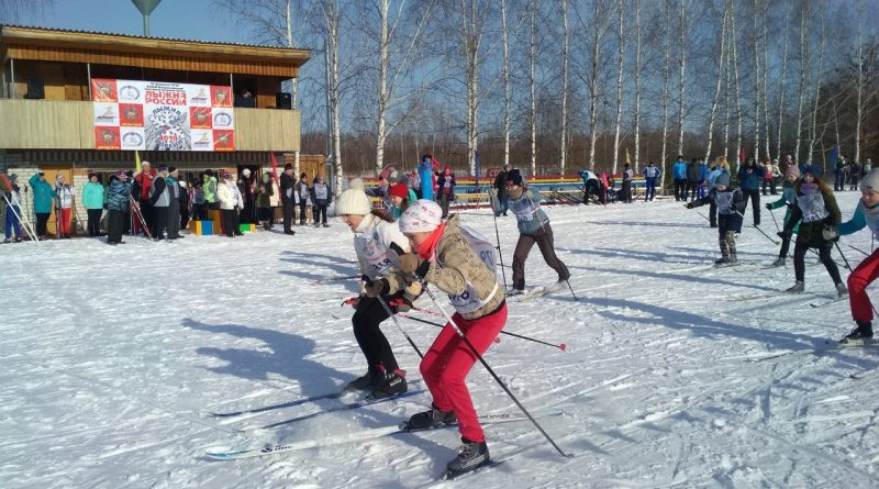 Всем районом на «Лыжню России» 33