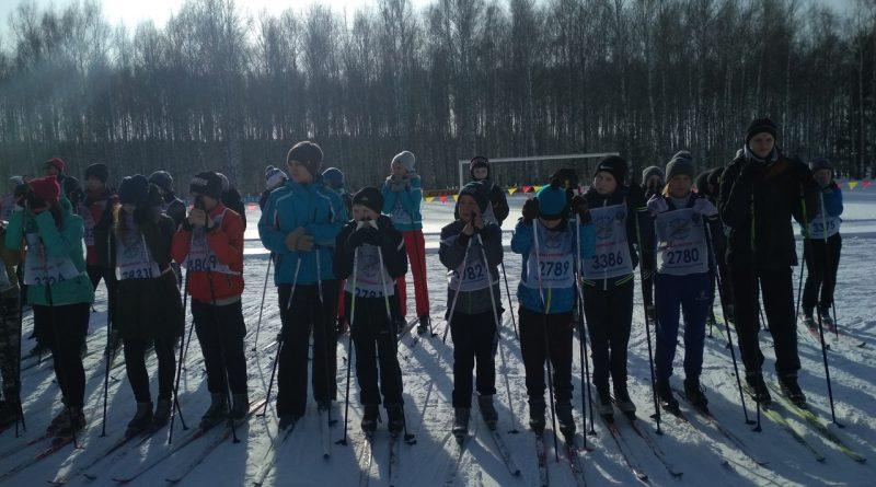 Всем районом на «Лыжню России» 36