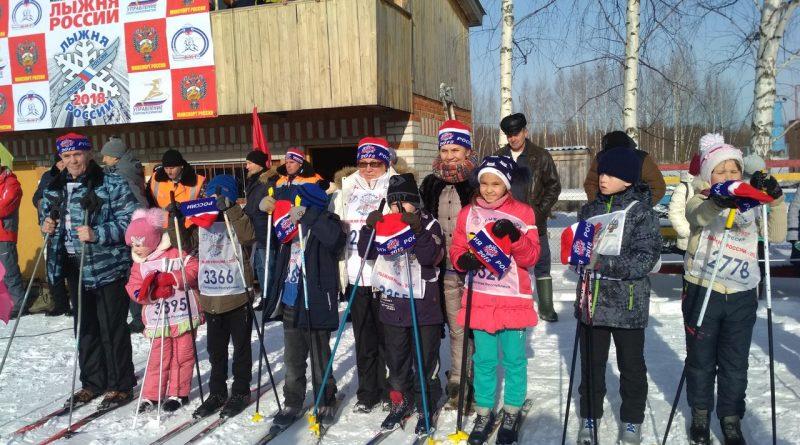 Всем районом на «Лыжню России» 37