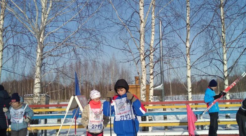 Всем районом на «Лыжню России» 40