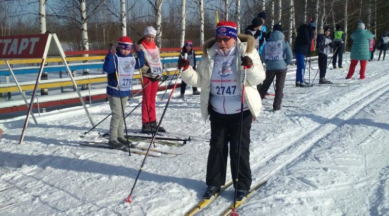 Всем районом на «Лыжню России» 46