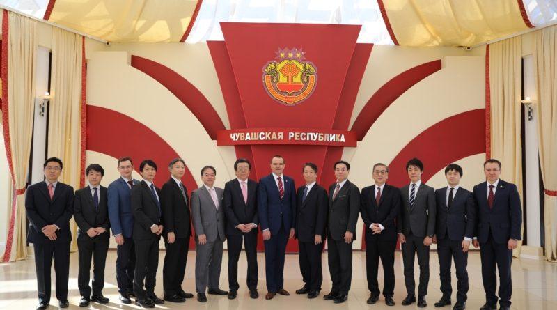 Делегация из Японии посетила Чувашскую Республику