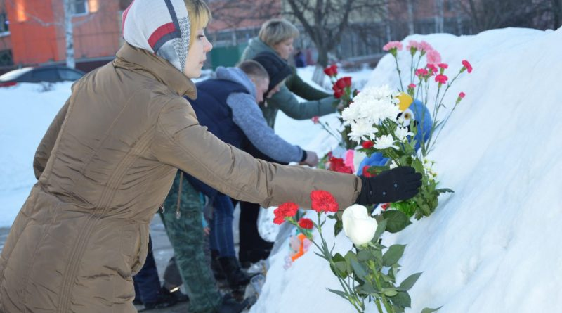 Алатырь скорбит по жертвам пожара в ТЦ «Зимняя вишня» в Кемерове 6
