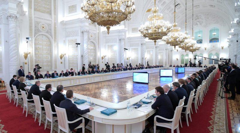 Глава Чувашии на заседании Госсовета РФ