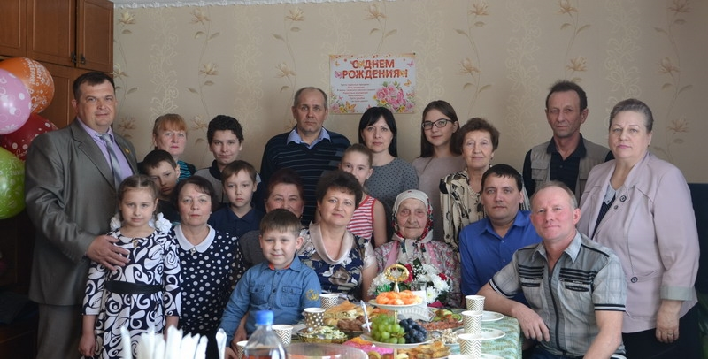 Жительница Алатыря, уроженка Алатырского района, отметила 90-летие 2