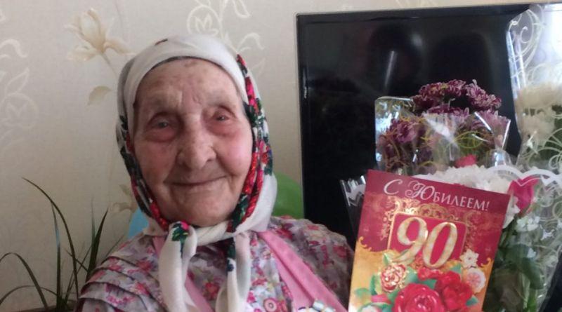 Жительница Алатыря, уроженка Алатырского района, отметила 90-летие