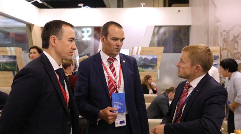 Глава Чувашии Михаил Игнатьев -  участник делового мероприятия «Экспорт регионов России – преодолевая рубежи»