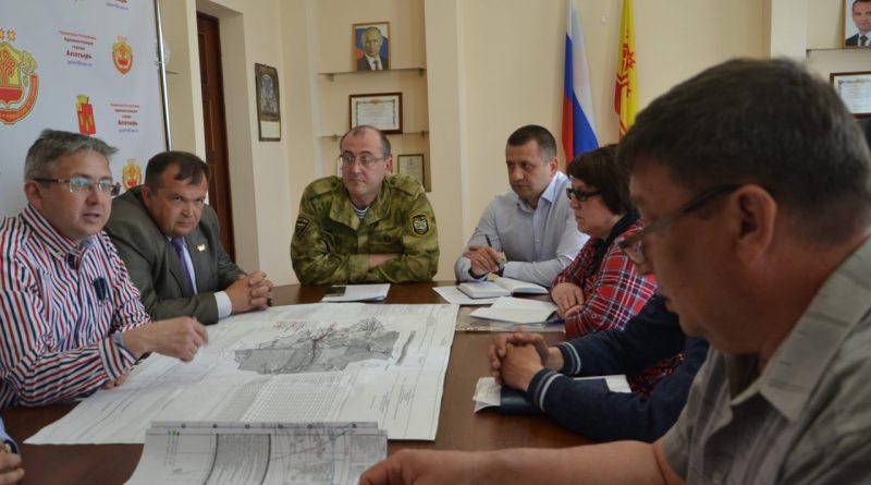 Министр транспорта и дорожного хозяйства Чувашской Республики Владимир Иванов побывал в Алатыре и Алатырском районе
