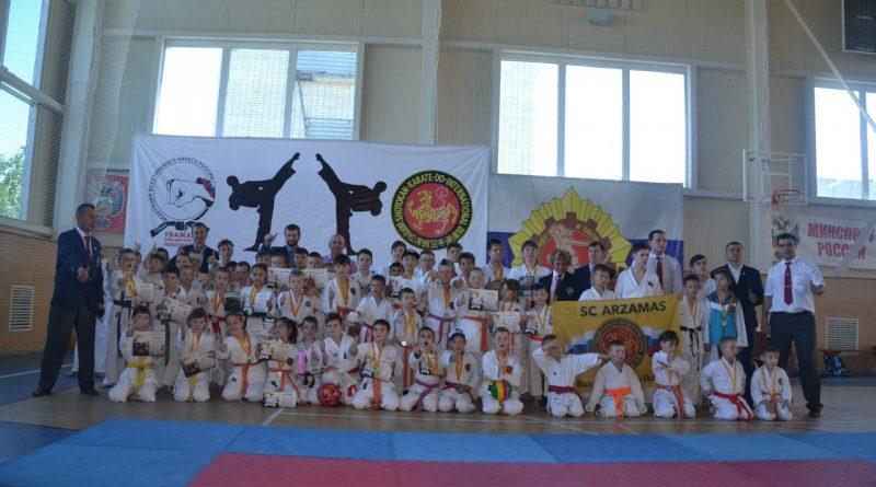 В Алатыре прошел турнир по каратэ-до