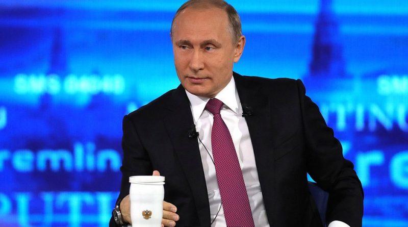 7 июня Президент России Владимир Путин проведет «прямую линию»