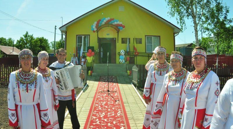 В селе Именево Красноармейского района в День Республики открылся фельдшерско-акушерский пункт