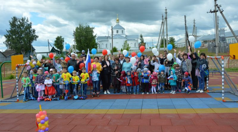 Площадка детям – инициатива родителей