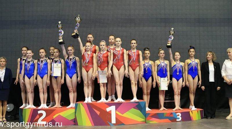 Юные гимнастки сборной Чувашии завоевали второе место на первенстве России