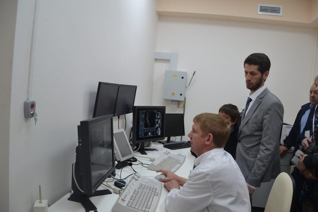 В Алатыре появился компьютерный томограф 1