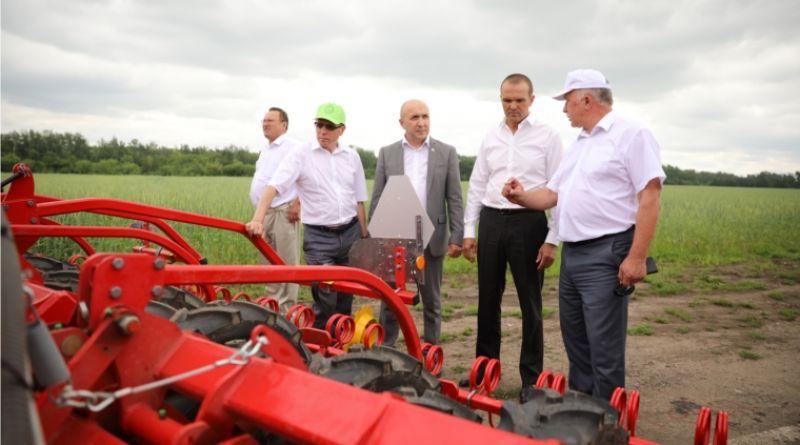 В Чувашии открыта республиканская выставка-демонстрация «День поля – 2018»