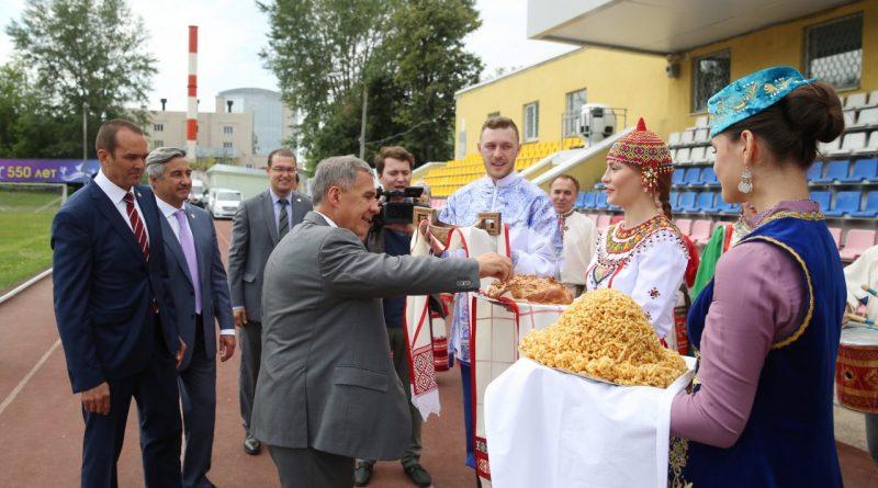 В Чувашию прибыл Президент Республики Татарстан Рустам Минниханов