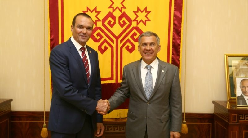 Состоялась рабочая встреча Главы Чувашии и Президента Республики Татарстан