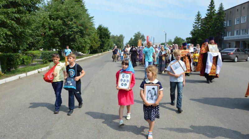 Крестный ход в Алатыре в память о царской семье 11