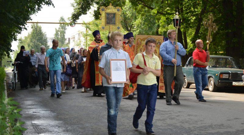 Крестный ход в Алатыре в память о царской семье 16
