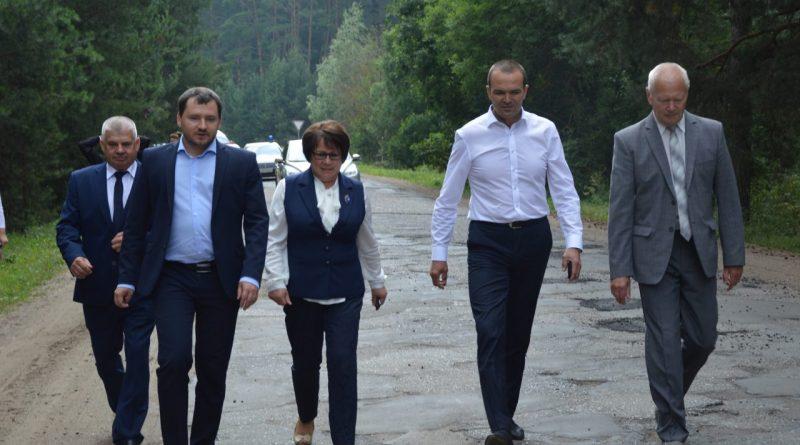 Михаил Игнатьев посетил Алатырский район